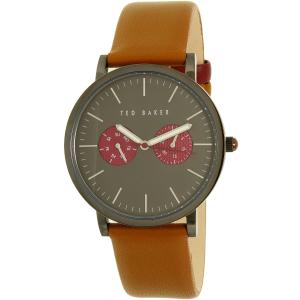 Ted Baker Men's 10024783 Brown Leather Quartz Watch