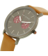 Ted Baker Men's 10024783 Brown Leather Quartz Watch - Side Image Swatch