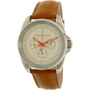 Ted Baker Men's 10025261 Brown Leather Quartz Watch