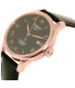 Tissot Men's Le Locle T41.5.423.53 Black Leather Swiss Automatic Watch - Side Image Swatch