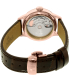 Tissot Men's T-Classic T099.207.36.037.00 Brown Leather Swiss Automatic Watch - Back Image Swatch