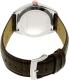 Tissot Men's T-Classic T101.451.26.031.00 Brown Leather Swiss Quartz Watch - Back Image Swatch