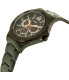 Timex Men's TW2P87700 Black Stainless-Steel Quartz Watch - Side Image Swatch