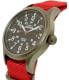 Timex Men's Expedition Scout TW4B04500 Red Nylon Analog Quartz Watch - Side Image Swatch