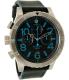 Nixon Men's A3632219 Blue Leather Quartz Watch - Main Image Swatch