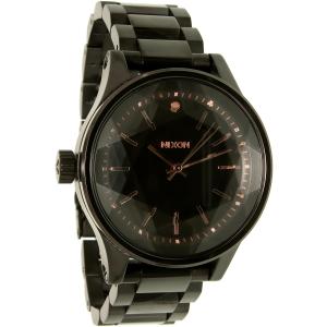 Nixon Women's A409957 Black Stainless-Steel Quartz Watch