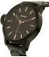 Nixon Men's A441957 Black Stainless-Steel Swiss Quartz Watch - Side Image Swatch