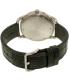 Nixon Men's A4652145 Grey Leather Swiss Quartz Watch - Back Image Swatch