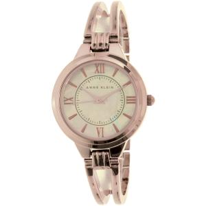 Anne Klein Women's AK-1440RMRG Rose Gold Metal Analog Quartz Watch