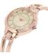 Anne Klein Women's AK-1440RMRG Rose Gold Metal Analog Quartz Watch - Side Image Swatch