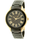 Anne Klein Women's AK-1948BKGB Black Ceramic Quartz Watch - Main Image Swatch