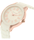 Anne Klein Women's AK-1948WTRG White Ceramic Quartz Watch - Side Image Swatch