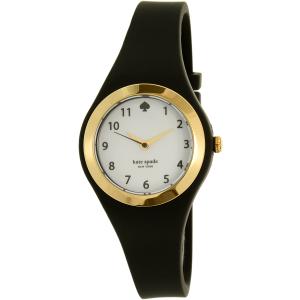 Kate Spade Women's Rumsey 1YRU0642 Black Silicone Quartz Watch