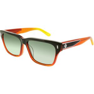Spy Men's  673361720863 Sunset Orange Multi Square Sunglasses