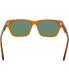 Spy Men's  673361812863 Brown Square Sunglasses - Back Image Swatch
