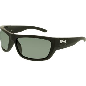 Spy Men's  673368243863 Black Wrap Sunglasses