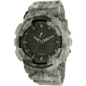 Casio Men's G-Shock GA100MM-8A Grey Rubber Quartz Watch