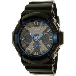 Casio Men's G-Shock GA200CB-1A Black Resin Quartz Watch