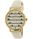 Kate Spade Women's Metro KSW1043 White Leather Quartz Watch - Main Image Swatch