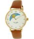 Kate Spade Women's Metro KSW1073 Brown Leather Quartz Watch - Main Image Swatch