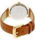 Kate Spade Women's Metro KSW1073 Brown Leather Quartz Watch - Back Image Swatch
