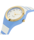 Kate Spade Women's Rumsey KSW1088 Blue Silicone Quartz Watch - Side Image Swatch