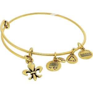 Alex And Ani Women's French Royalty Rafaelian Gold Charm Bracelet
