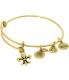 Alex And Ani Women's French Royalty Rafaelian Gold Charm Bracelet - Main Image Swatch