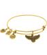 Alex And Ani Women's Spirit Of The Eagle Rafaelian Gold Charm Bracelet - Main Image Swatch