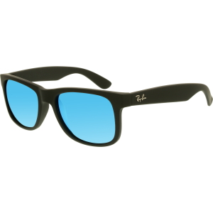 Ray-Ban Women's Mirrored  RB4165-622/55-51 Black Wayfarer Sunglasses
