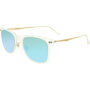 Ray-Ban Women's Mirrored  RB4210-646/3R-50 Clear Square Sunglasses