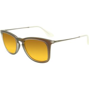 Ray-Ban Women's Mirrored  RB4221-61676Q-50 Grey Wayfarer Sunglasses