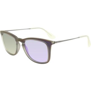 Ray-Ban Women's Mirrored  RB4221-61684V-50 Purple Wayfarer Sunglasses
