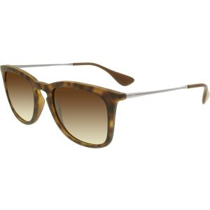 Ray-Ban Women's Gradient  RB4221-865/13-50 Tortoiseshell Wayfarer Sunglasses
