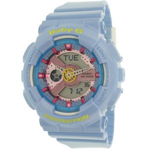 Casio Women's Baby-G BA110CA-2A Blue Plastic Quartz Watch