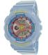 Casio Women's Baby-G BA110CA-2A Blue Plastic Quartz Watch - Main Image Swatch