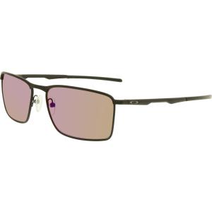Oakley Men's Polarized Conductor 6 OO4106-05 Black Rectangle Sunglasses