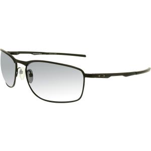 Oakley Men's Conductor 8 OO4107-01 Black Rectangle Sunglasses