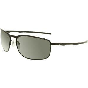 Oakley Men's Polarized Conductor 8 OO4107-02 Black Square Sunglasses