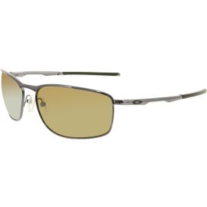 Oakley Men's Polarized Conductor 8 OO4107-03 Brown Square Sunglasses