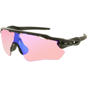 Oakley Men's Mirrored Radar Ev Path OO9208-04 Black Shield Sunglasses