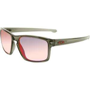 Oakley Men's Polarized Sliver OO9262-11 Purple Wayfarer Sunglasses