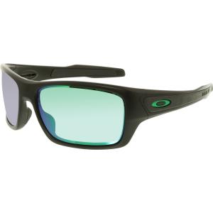 Oakley Men's Turbine OO9263-15 Green Square Sunglasses