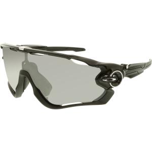 Oakley Men's Polarized Jawbreaker OO9290-07 Black Shield Sunglasses
