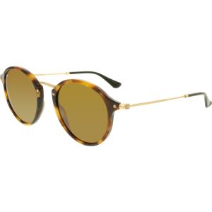 Ray-Ban Women's  RB2447-1160-49 Tortoiseshell Round Sunglasses