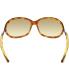 Tom Ford Women's Gradient Jennifer FT0008-52F-61 Tortoiseshell Rectangle Sunglasses - Back Image Swatch