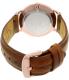 Daniel Wellington Men's Dapper St.Mawes 1100DW Rose Gold Leather Quartz Watch - Back Image Swatch