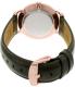 Daniel Wellington Men's Dapper Sheffield 1101DW Rose Gold Leather Quartz Watch - Back Image Swatch
