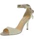 Nina Women's Vinnie-Gm Fabric Ankle-High Fabric Pump - Main Image Swatch