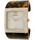 Emporio Armani Women's AR7395 Tortoiseshell Plastic Quartz Watch - Main Image Swatch
